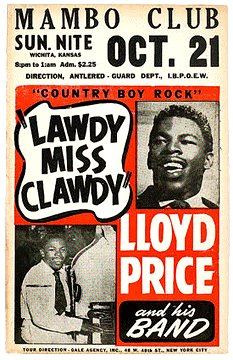 Let´s Keep the 50´s Spirit Alive!: Happy Birthday Lloyd Price !!!