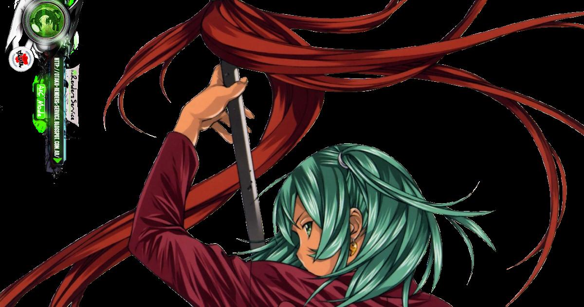 Ikkitousen:Ryofu Housen Sexy Lancer HD Render   ORS Anime Renders