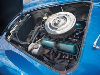 First Shelby Cobra Engine