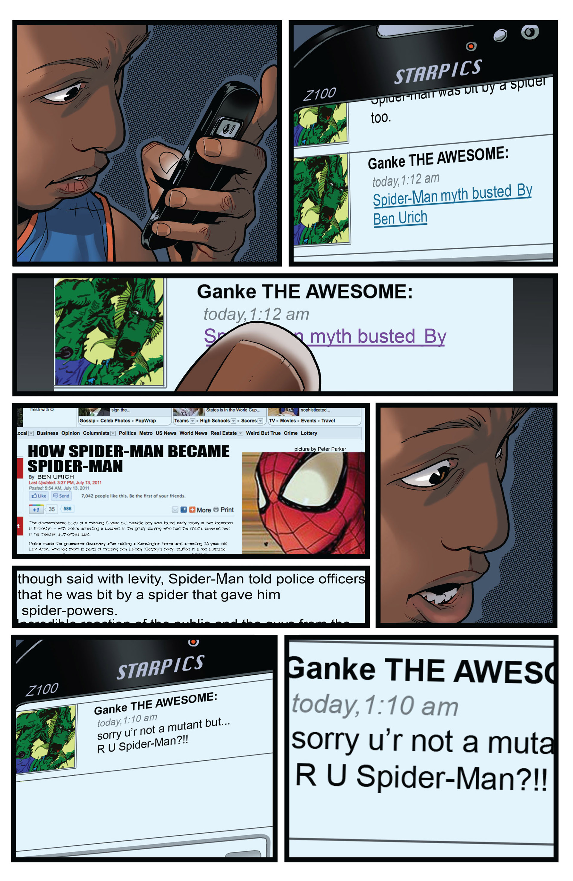Read online Ultimate Comics Spider-Man (2011) comic -  Issue #2 - 20
