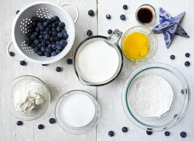 Blueberry Blintz Ice Cream