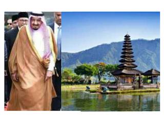 Raja Salman ke Pantai Dewata Bali