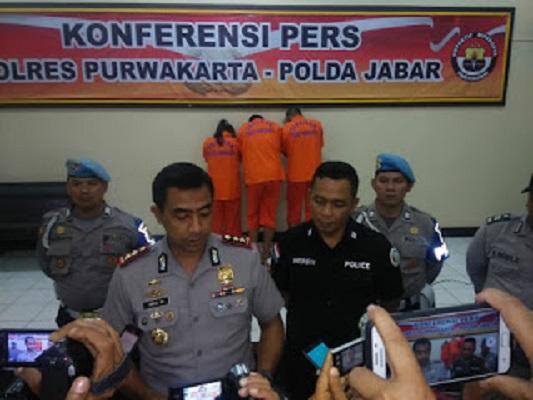 Pengedar Narkoba Ditangkap di Purwakarta, 37 Gram Sabu Disita