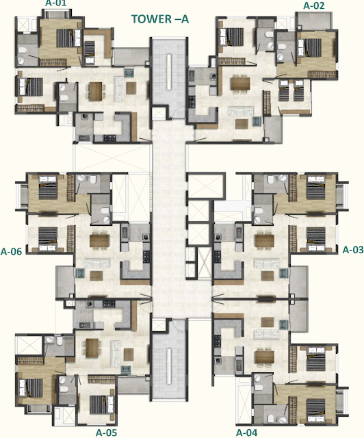 DNR Casablanca- Floor Plan