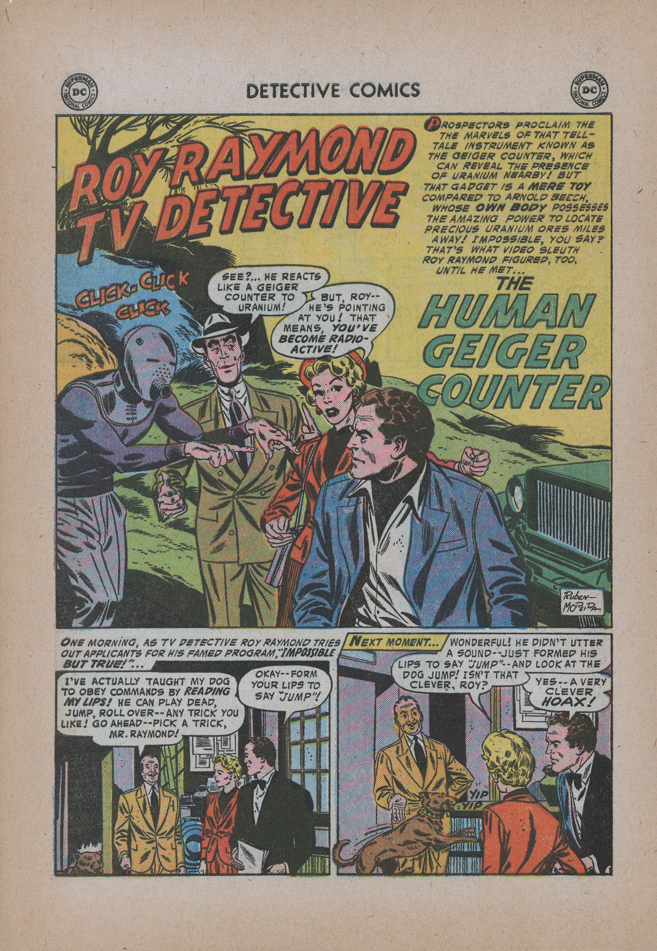 Read online Detective Comics (1937) comic -  Issue #221 - 28