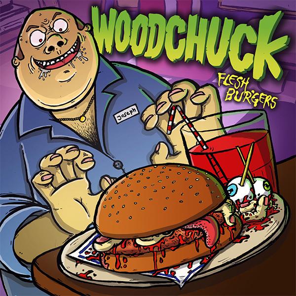 "Woodchuck stream album ""Flesh Burgers"""