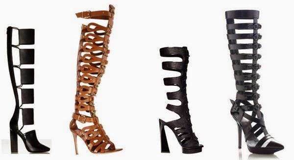 e923112532 Elas podem ser de salto baixo para um look mais cool ou se salto alto para  quem quer investir no estilo sexy. O único porém são as mulheres que tem  pernas ...