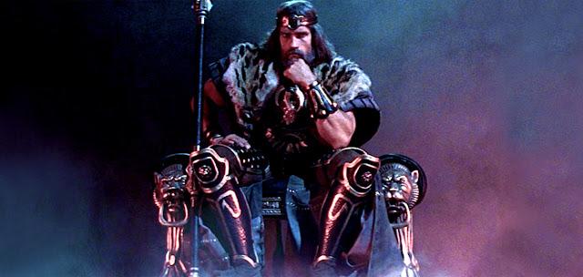 Arnold Schwarzenegger - Conan pe tron