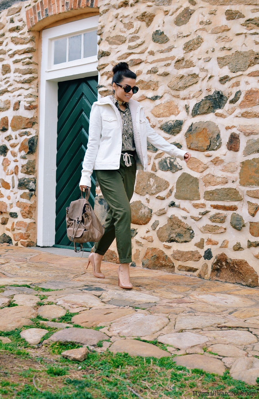 Outfit with earth tone colors