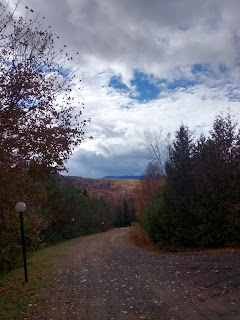 Chemin Charlevoix, automne, couleurs