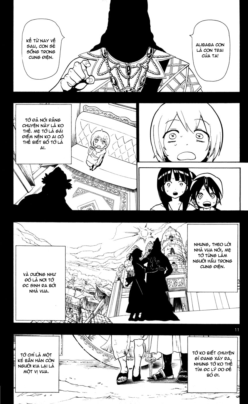 Magi The Labyrinth of magic chapter 38 trang 15