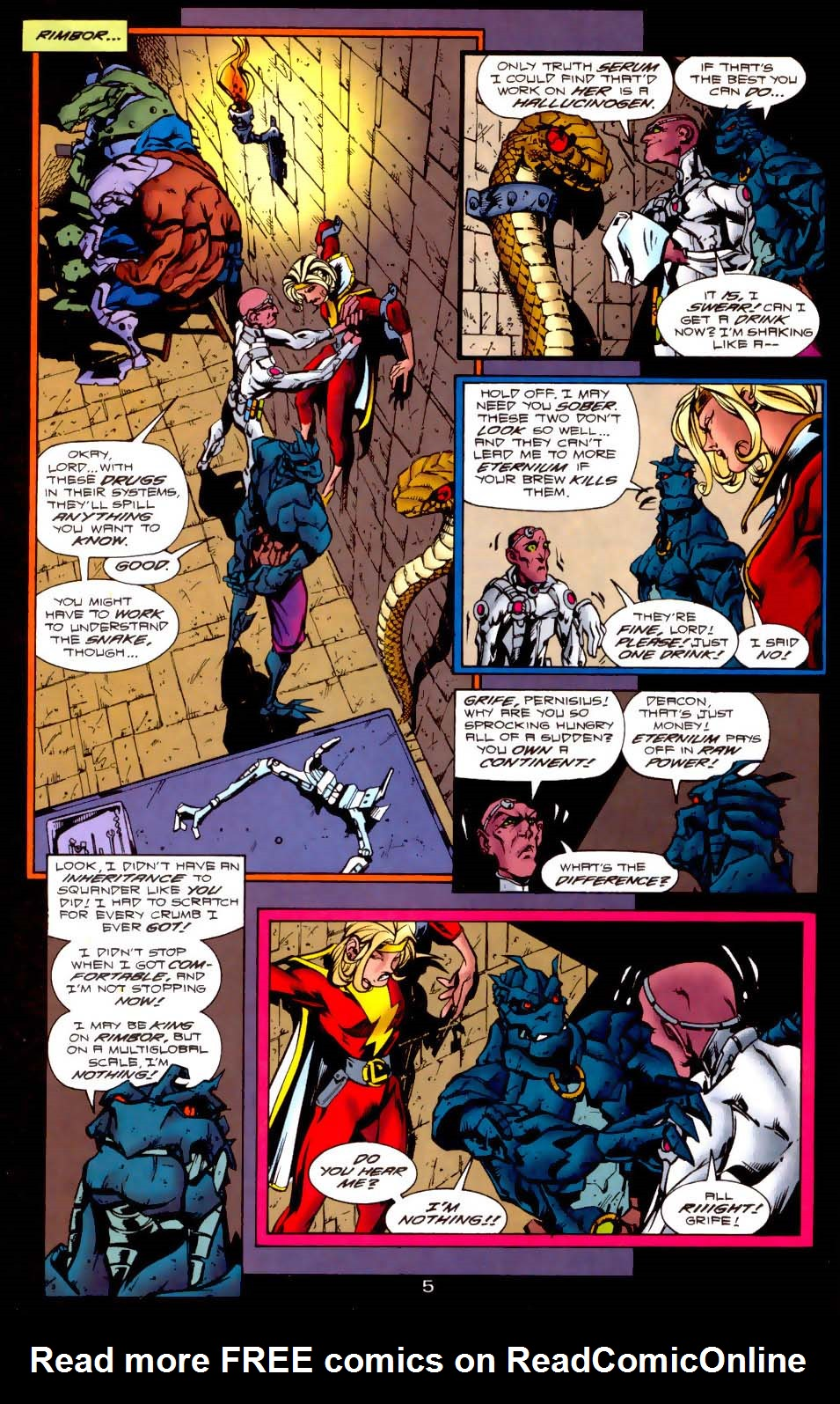 Legion of Super-Heroes (1989) 116 Page 5