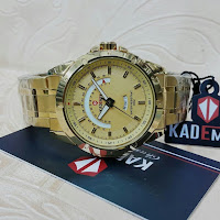 Jam Tangan Kademan Model gold