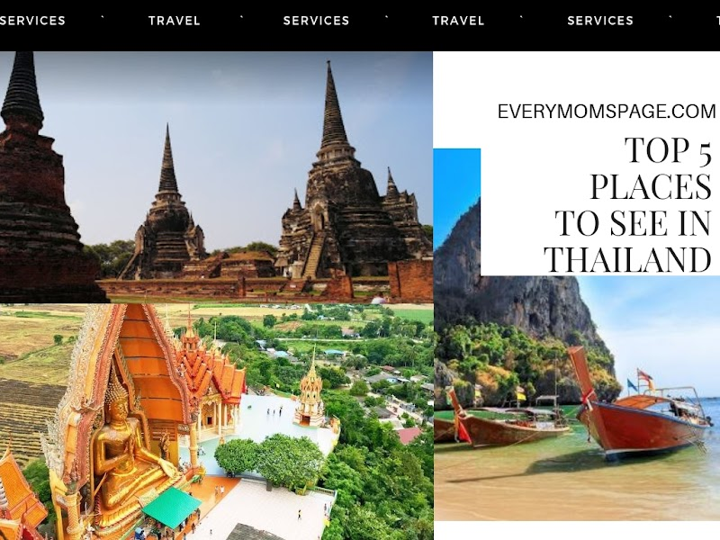 Top 5 Places To See In Thailand