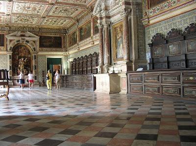 Sacristía de catedral de Salvador de Bahía, Brasil, La vuelta al mundo de Asun y Ricardo, round the world, mundoporlibre.com