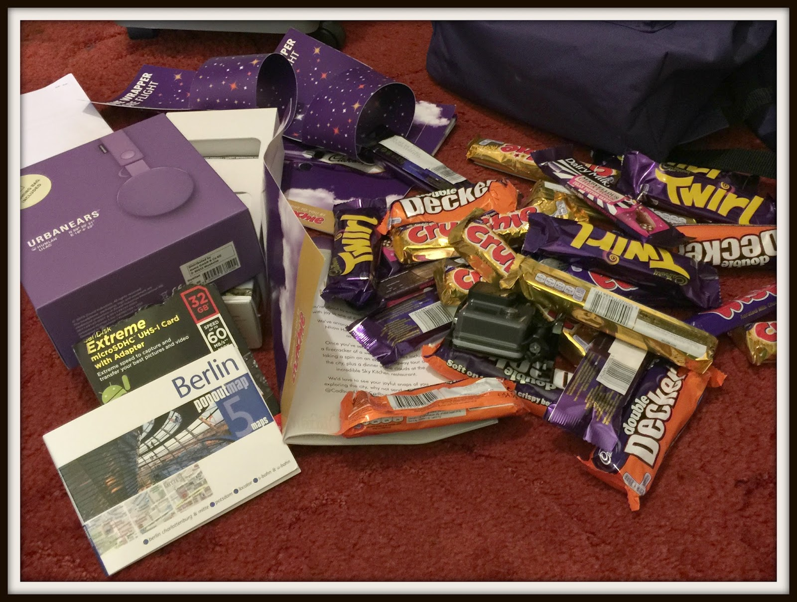 enter a cadbury competition and be a winner