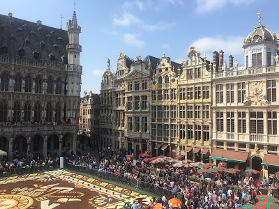 brussels flower carpet 2018