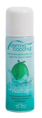 Dermacoconut by Ivete Sangalo Hidratante para Pele com Água de Coco Natural 50 ml