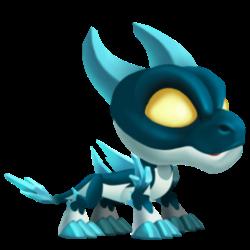 Dragon Massif apparence de l'enfant