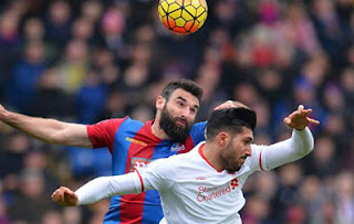Bermain Dengan 10 Pemain, Liverpool Kalahkan Tuan Rumah Palace