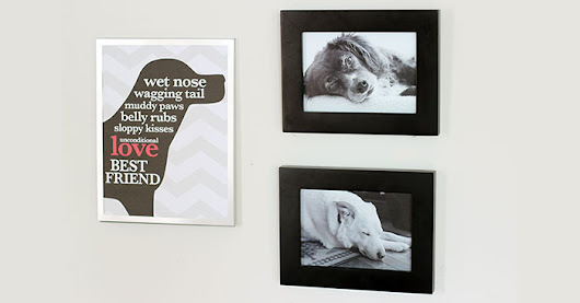 Free Printable Dog Wall Art for Your Pet Accent Wall