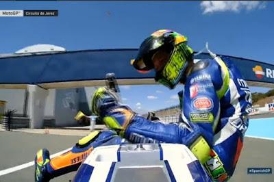Rossi Menangi MotoGP Jerez di Depan 5 Pembalap Tuan Rumah