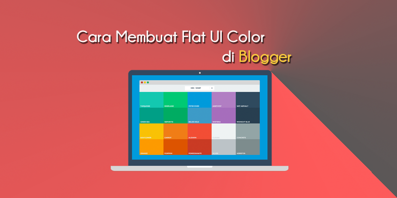 Flat UI Color For Blogger