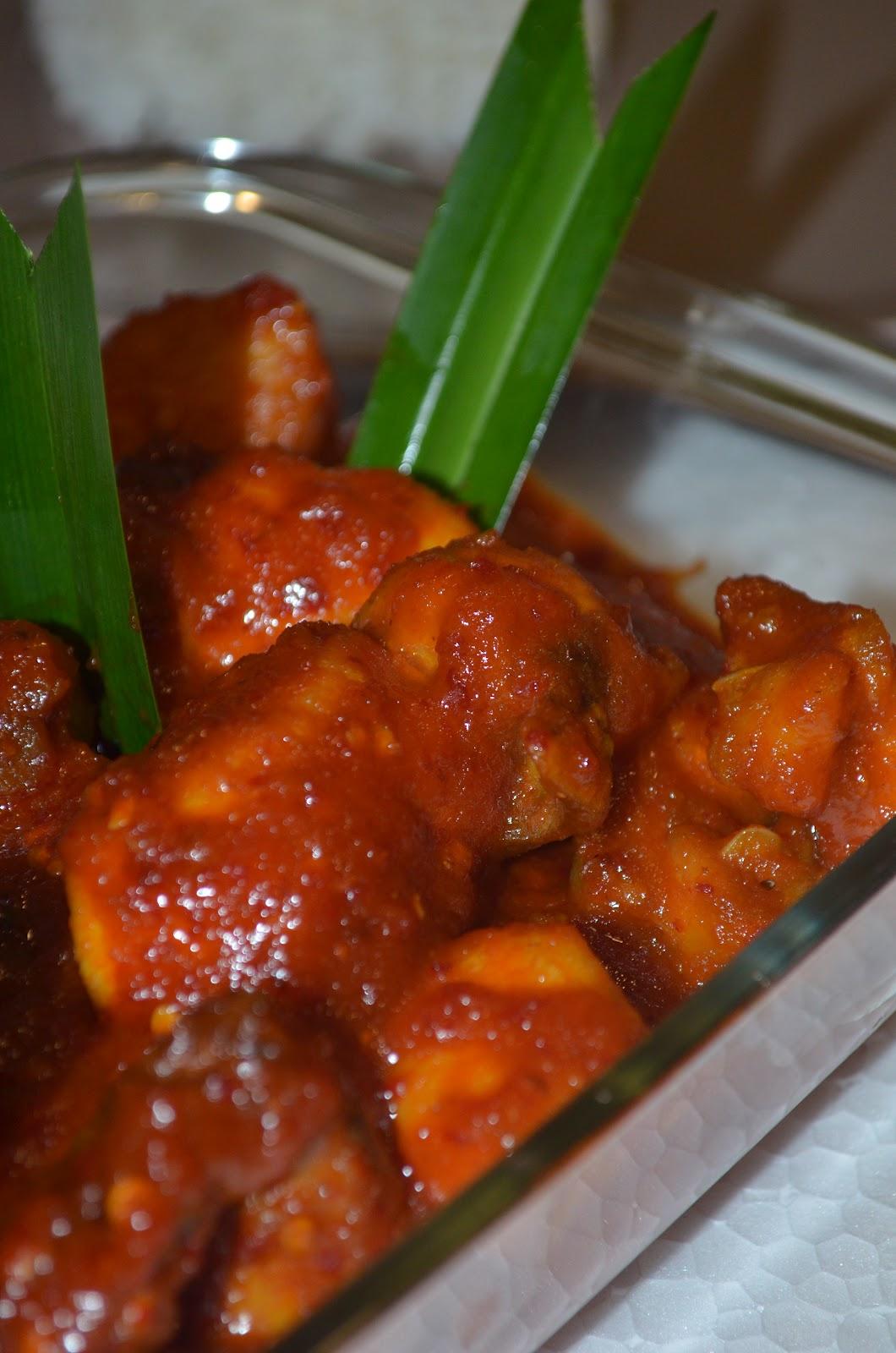 resepi ayam masak rendang daun kunyit sd beteng Resepi Ayam Masak Lemak Noxxa Enak dan Mudah