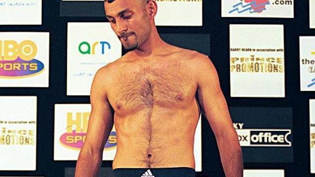 الملاكم نسيم حميد