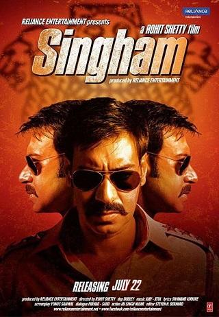 Singham 2011 Hindi 1GB BRRip 720p
