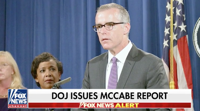 DOJ IG releases explosive report that led to firing of ex-FBI Deputy Director Andrew McCabe.