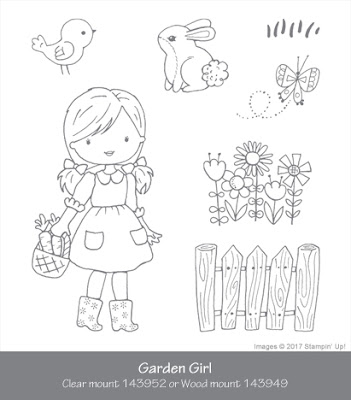 Garden Girl by Stampin Up