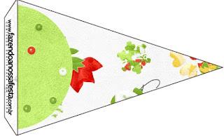 Flores de Navidad: Imprimibles Gratis para Fiestas