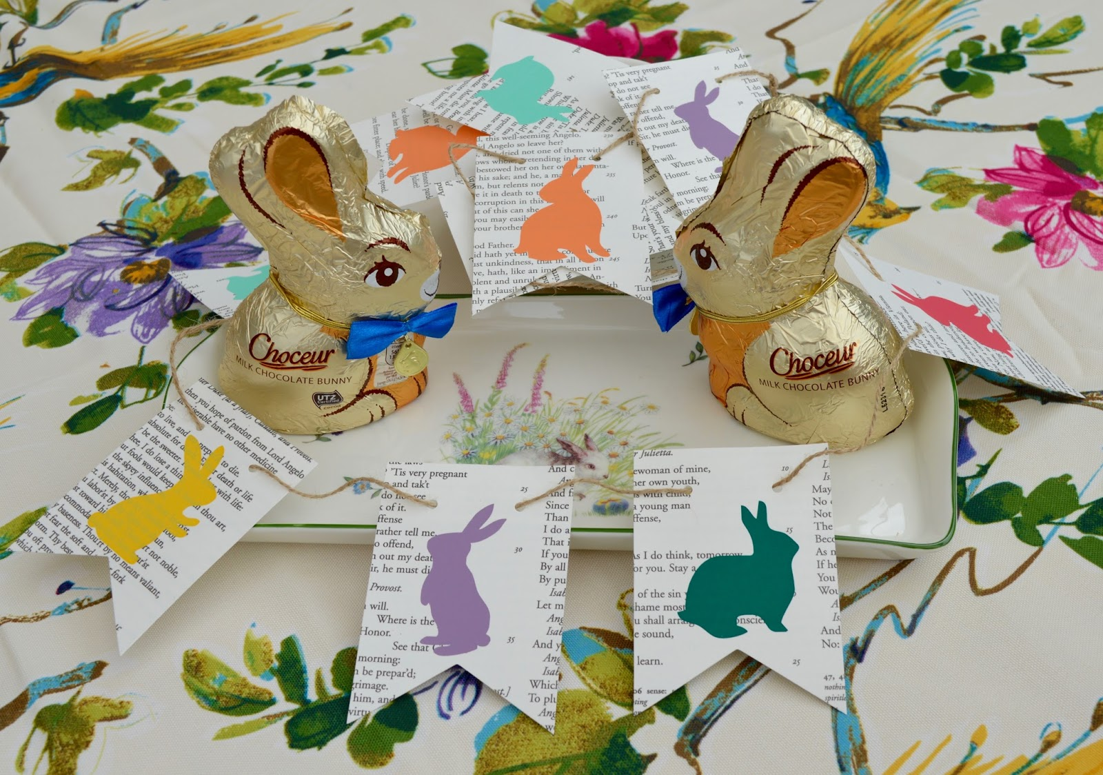6 questions your children may ask about UK Easter traditions  - Easter bunny bunting