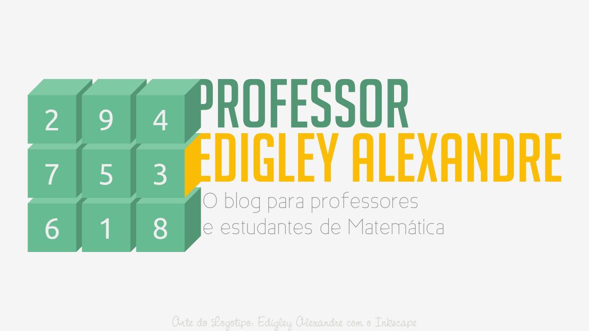Logotipo do blog Prof. Edigley Alexandre