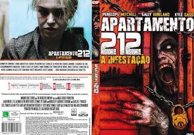Filme Apartamento 212 - A Infestação (Apartment 212) DVD Capa