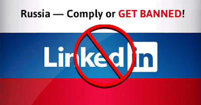 Unblock LinkedIn in Russia