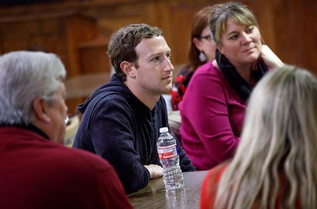Mark  Zuckerberg having great  days in Texas