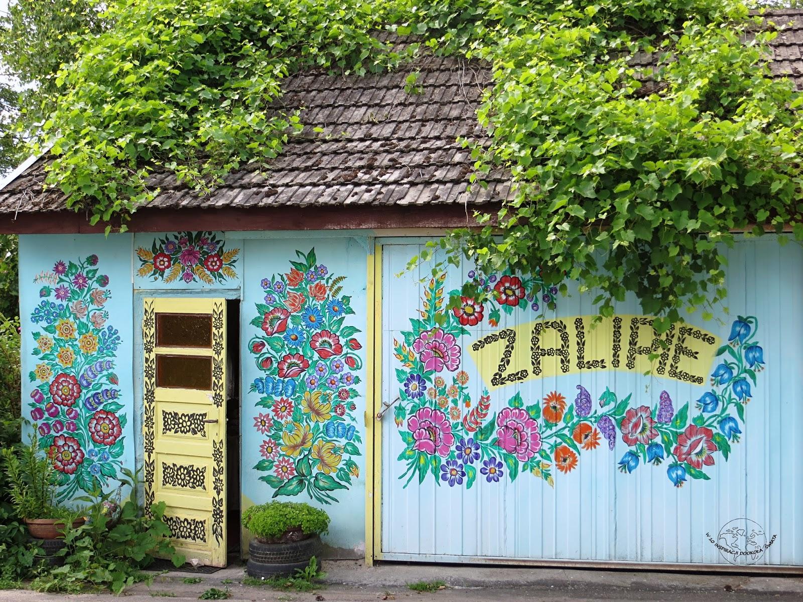 Zalipie- najbardziej kolorowa wioska w Polsce