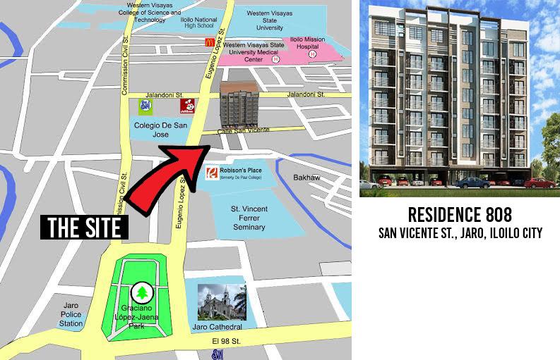 Residence 808 Condominium, Iloilo City