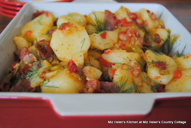 Bacon Dilly Potatoes at Miz Helen Country Cottage