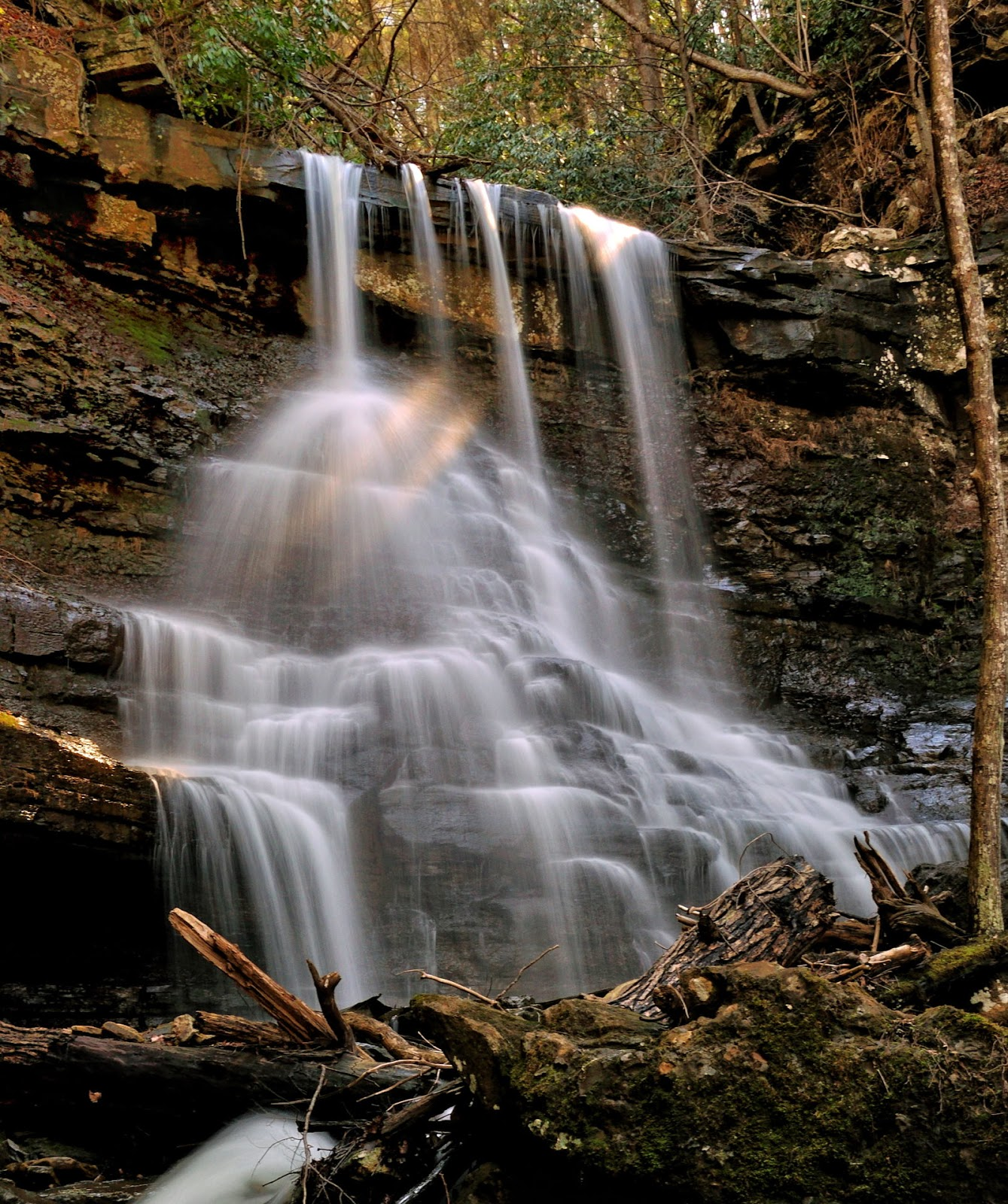 Discover west virginia the wonder of white oak falls
