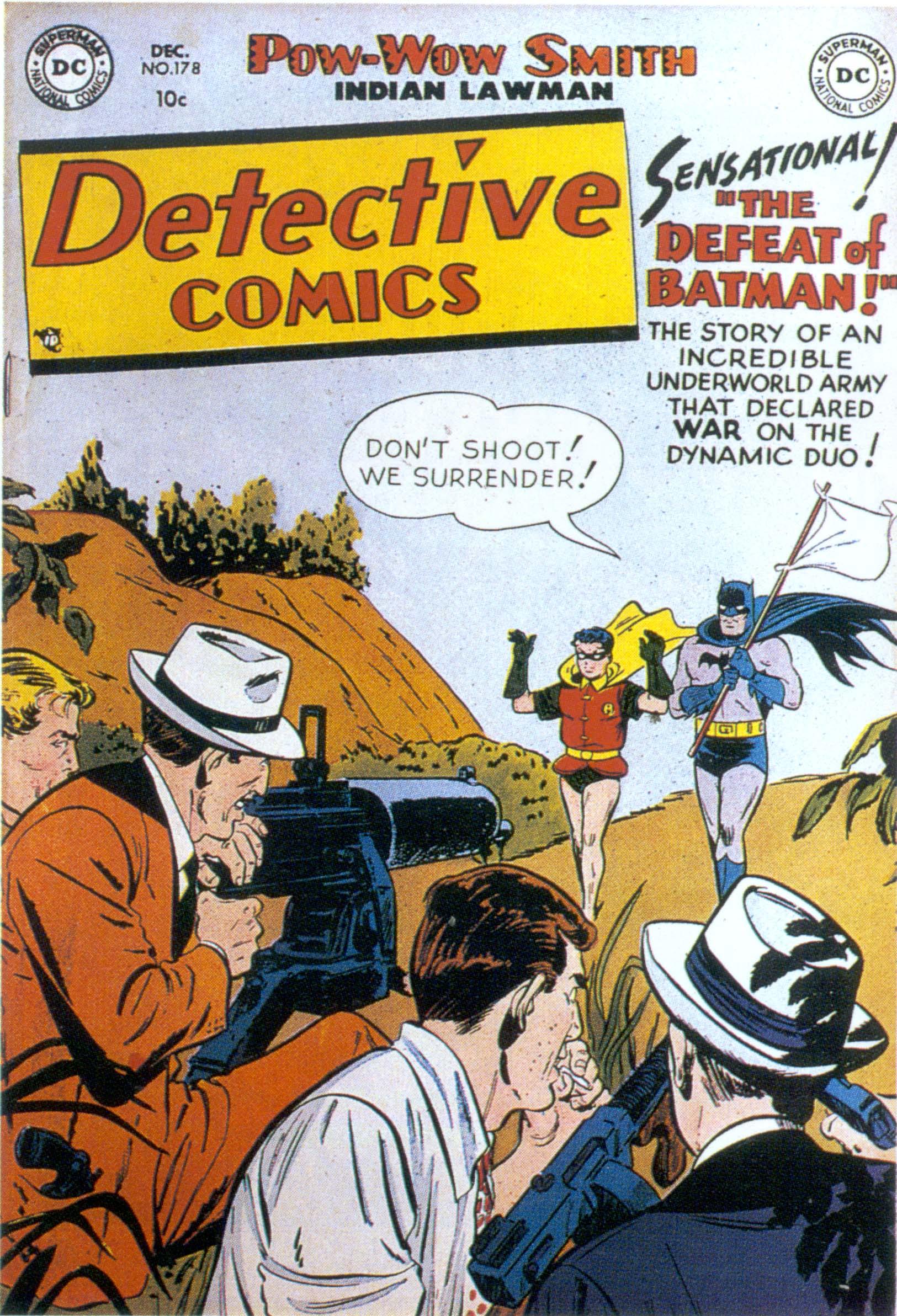 Detective Comics (1937) 178 Page 1