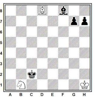 Posición de la partida de ajedrez Cunha - Teixeira (Río de Janeiro, 1980)