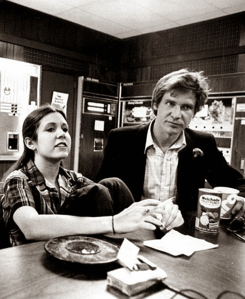 carrie and harrison hanging out