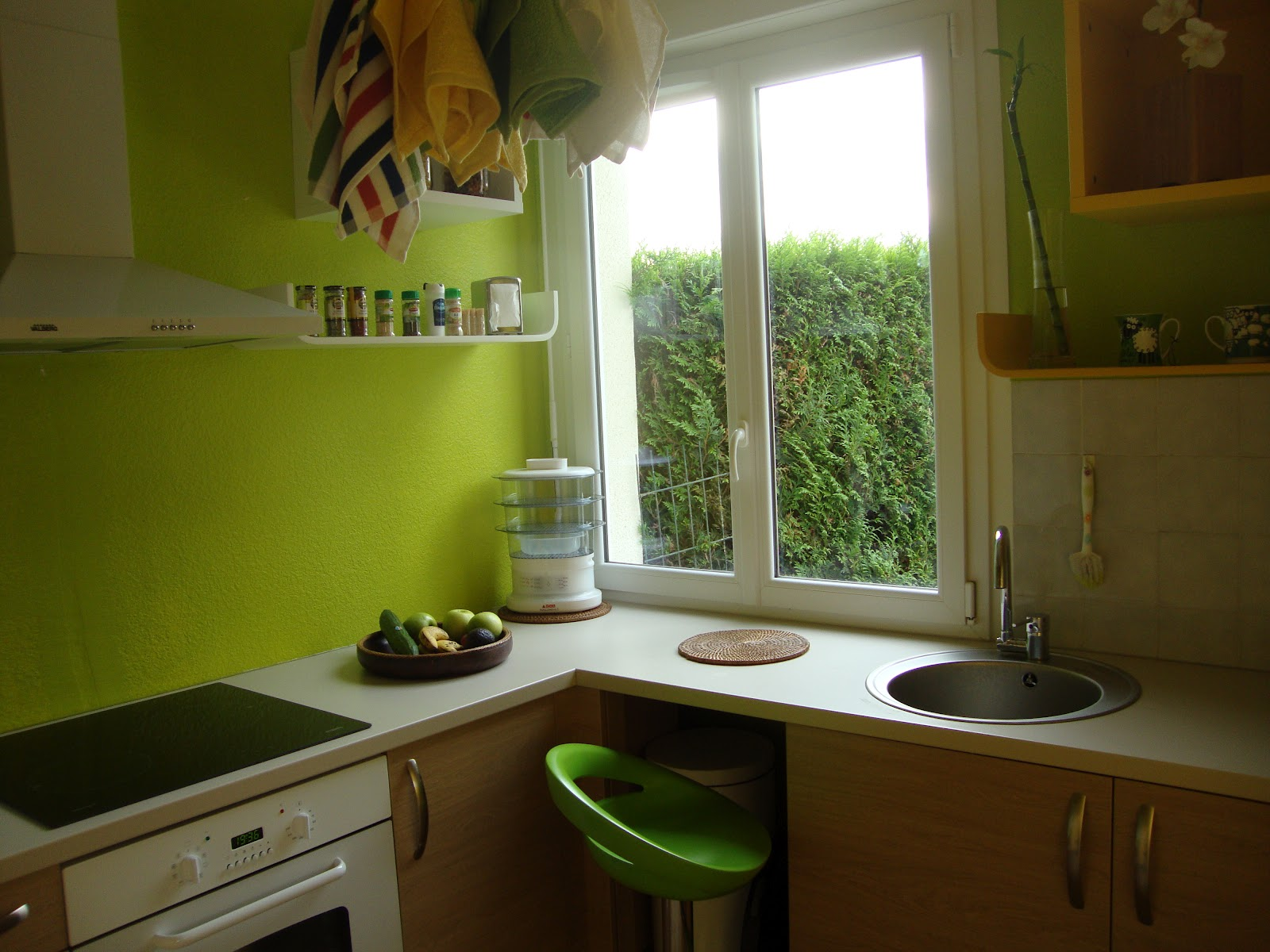 cuisine fonctionnelle plan. Black Bedroom Furniture Sets. Home Design Ideas