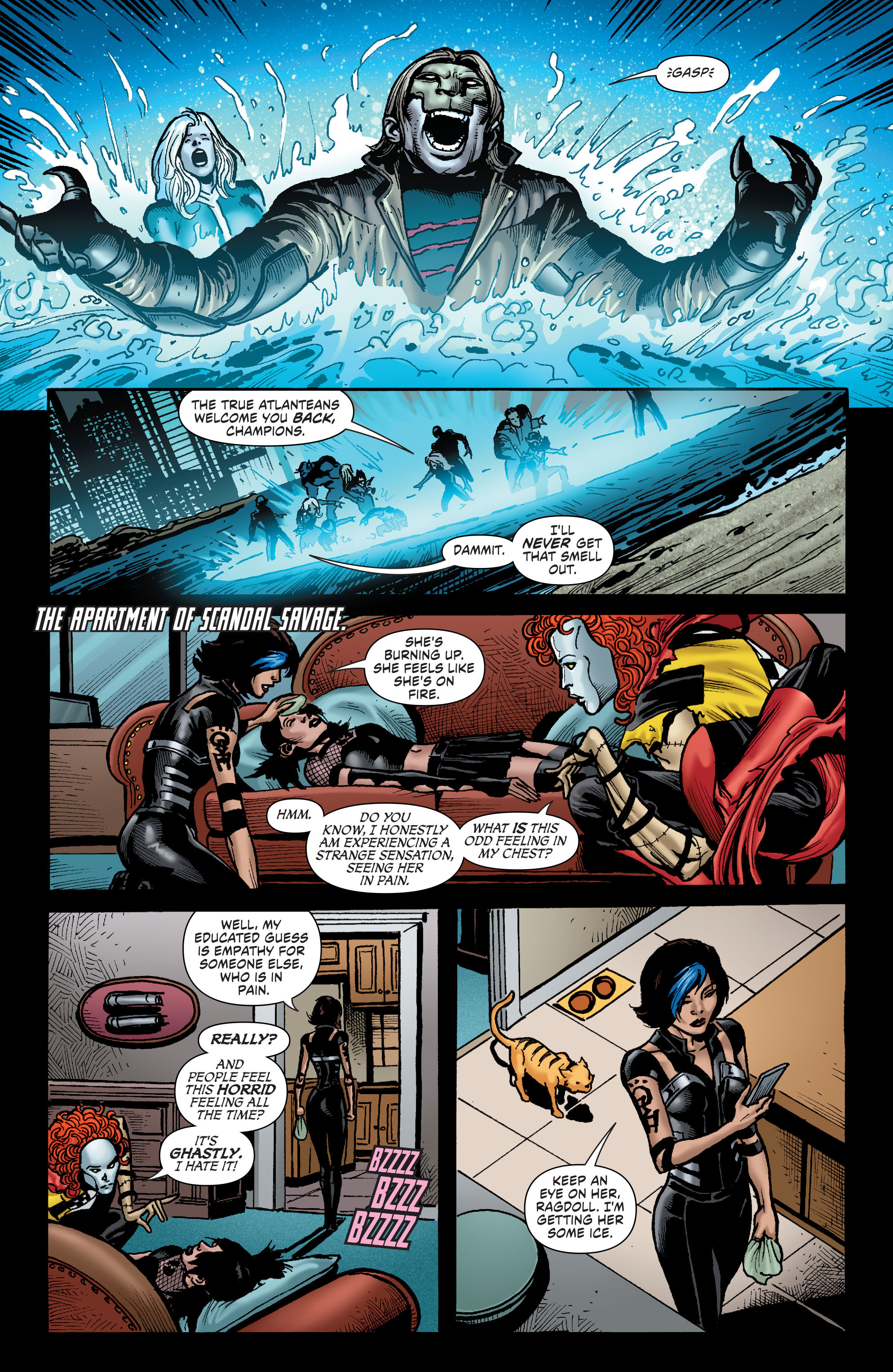Read online Secret Six (2015) comic -  Issue #9 - 11