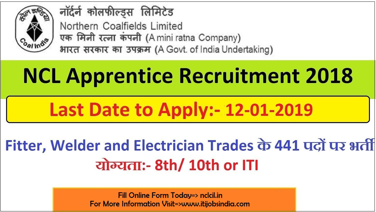 December 2018 ~ ITI Jobs & Apprentice