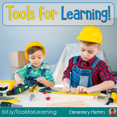 Tools for Learning! Here are several tools for children to learn to help them with the learning process. Plus, there's a freebie sample