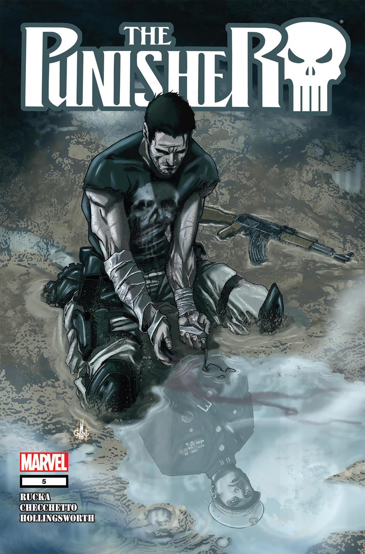 The Punisher (2011) 5 Page 1